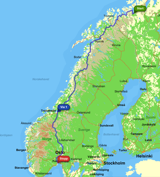 Alta Norway  City new picture : ... 2000KM – From Alta to Toensberg – Norway | Pål André Eriksen